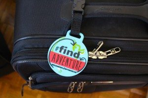 Find Adventure Luggage Tag!