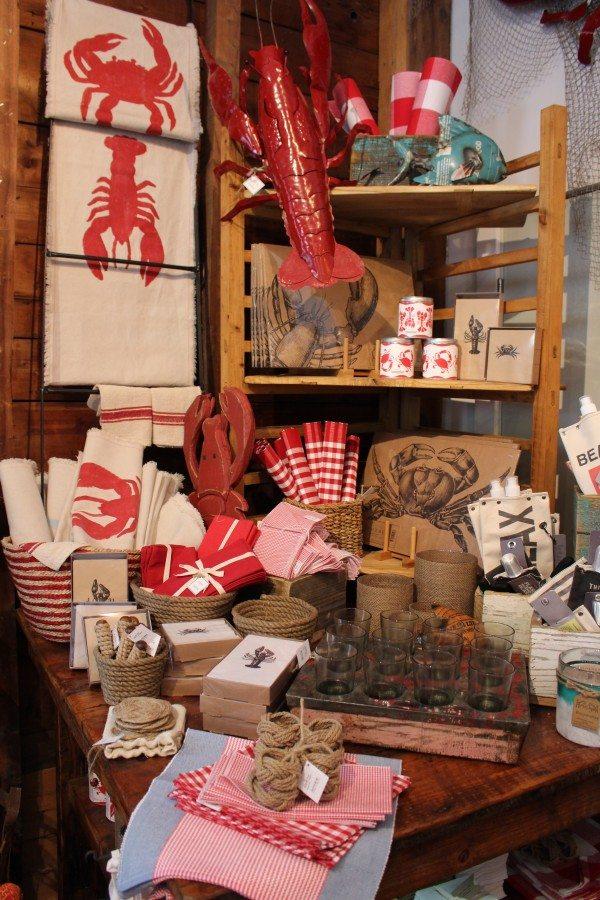 Adorable lobster dinner display