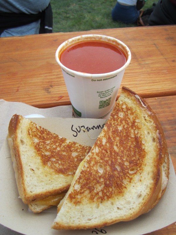 Grilled Cheese and Smokey Tomato Soup @ Outside Lands