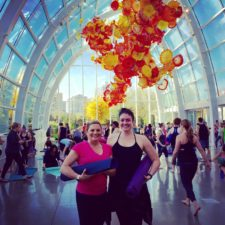 Sunday Yoga Class at Chihuly Garden and Glass