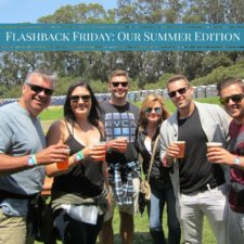 Flashback Friday ~ Our Summer Edition!