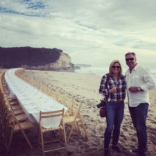 A Magical Meal on the Beach by Outstanding in the Field