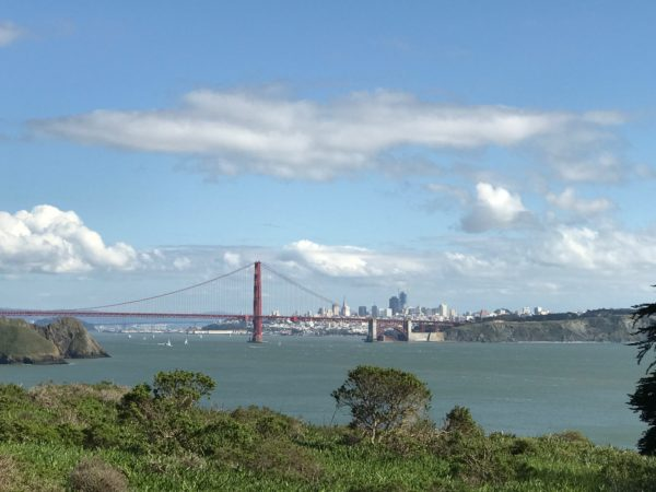 a sunny day in San Francisco