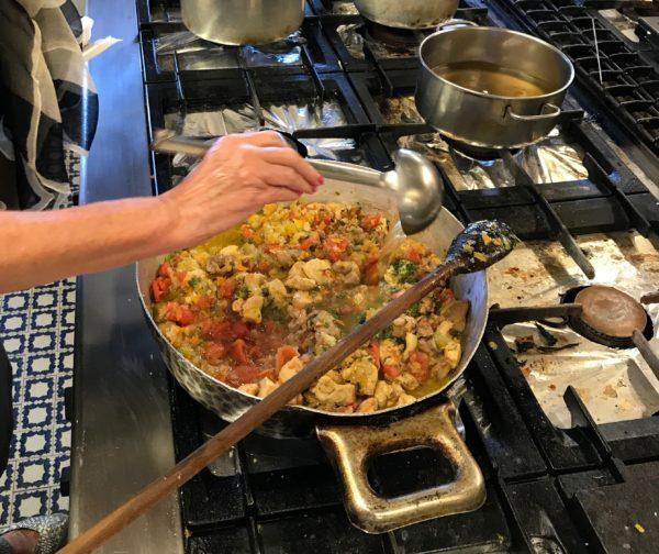 Italian cooking school