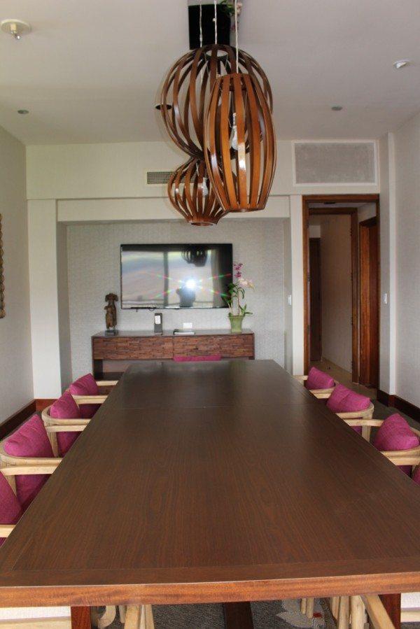 Dining room Hyatt Maui