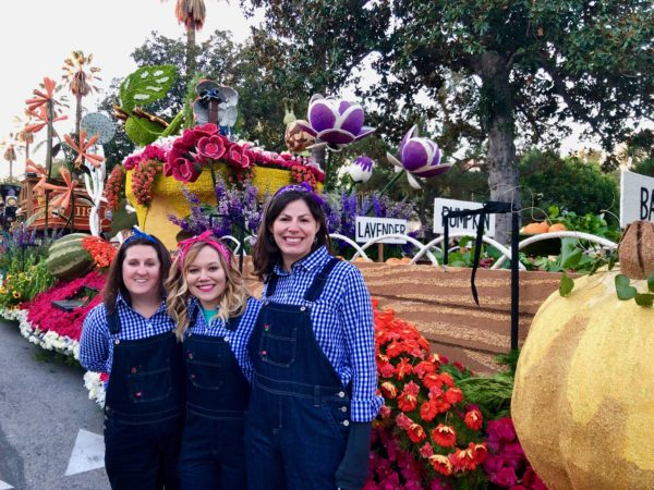 floats at the Rose Parade