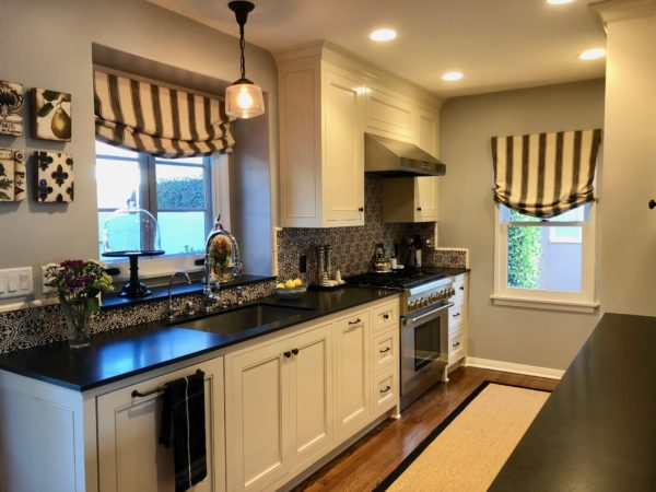 renovated kitchen & dining room