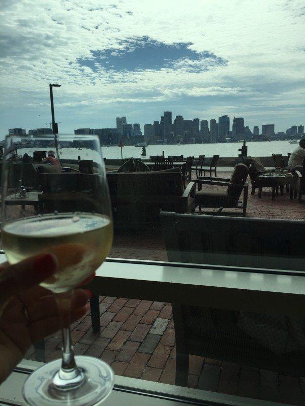 View of Downtown Boston from the Hyatt Boston Harbor