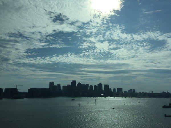 View of Boston from the Hyatt Boston Harbor
