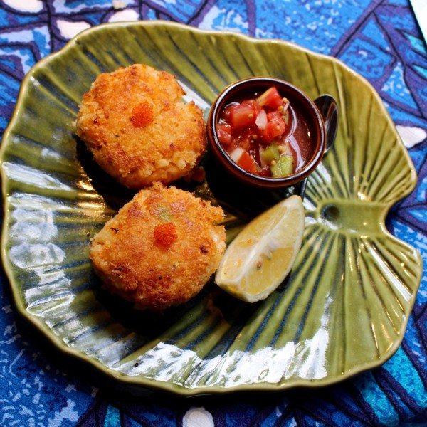 Hawaiian Crab Cakes