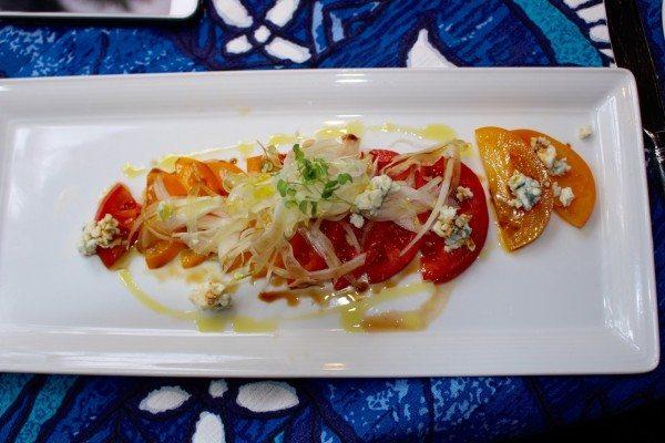 Local Kula Tomato Salad and Maui Onions