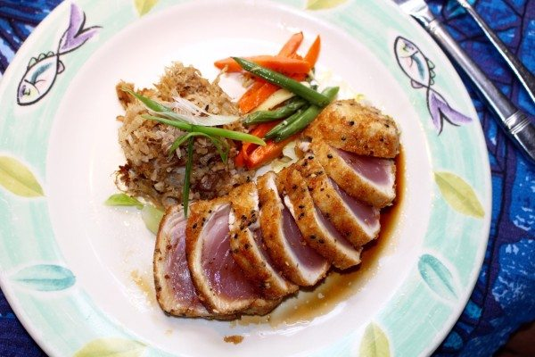 Seared Ahi Tuna - Amazing!