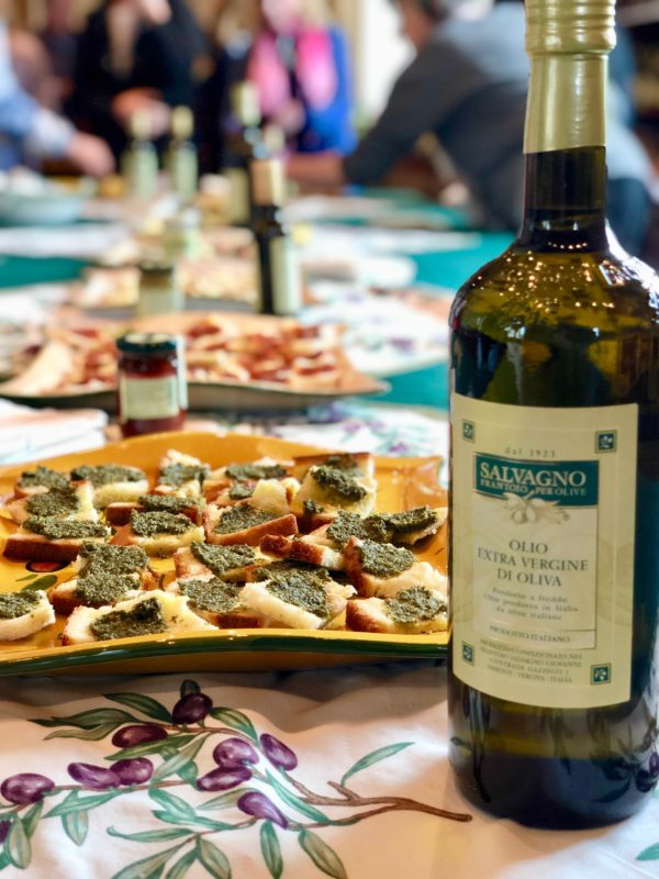 a culinary tour in Italy
