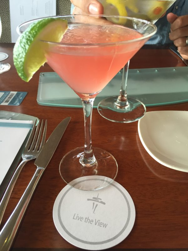 Sometimes we even have a Space Needle Cosmo!