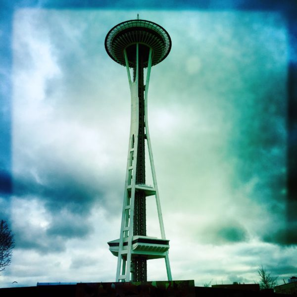 view of the Space Needle