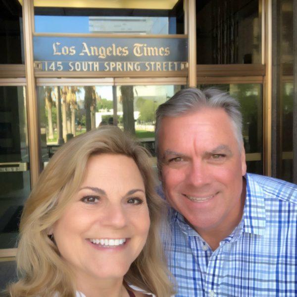 tour of the LA Times