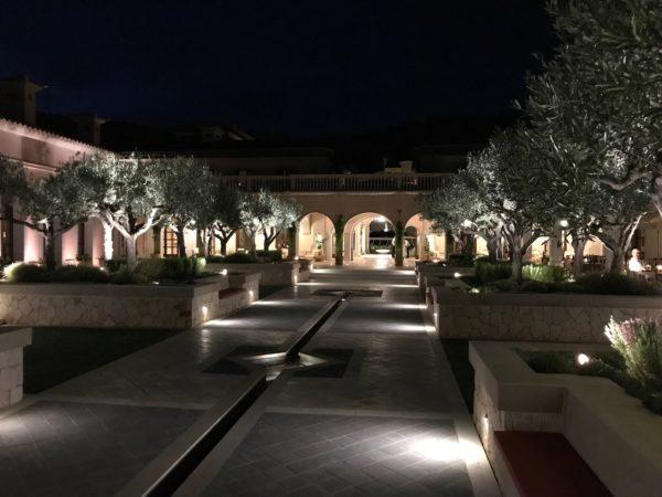 Park Hyatt Mallorca at night