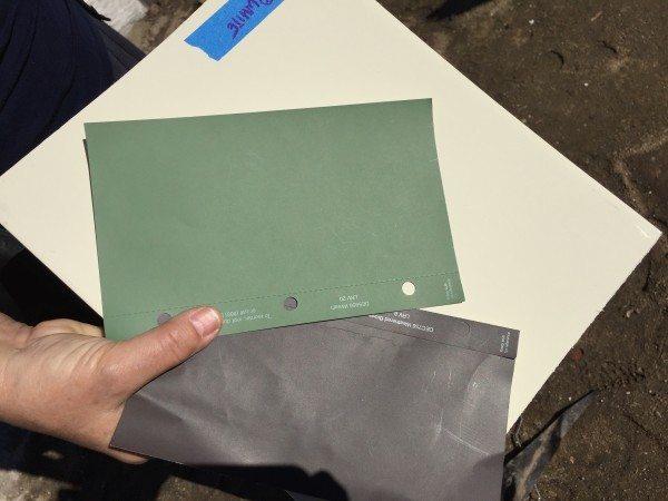 fixer upper - outside paint colors