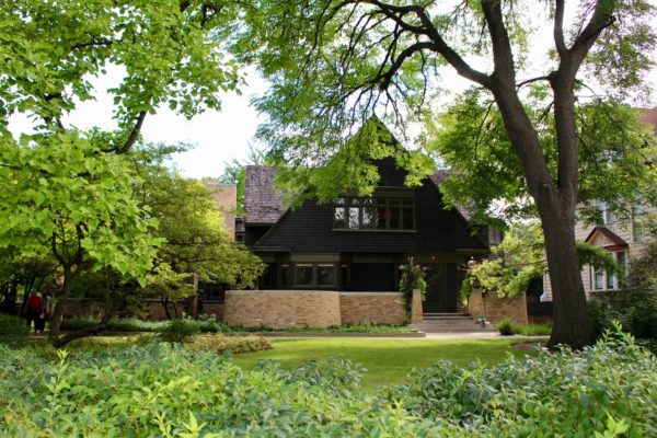 the home of Frank Lloyd Wright