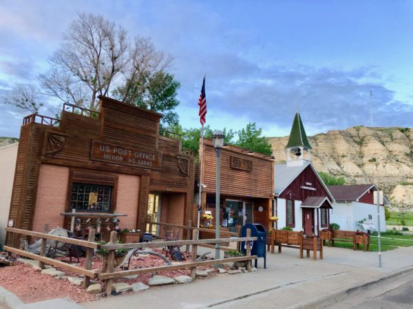 visit to Medora North Dakota