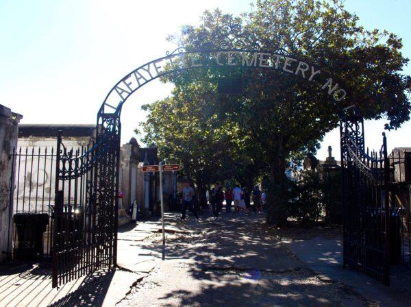 New Orleans Garden District - Layette Cemetery