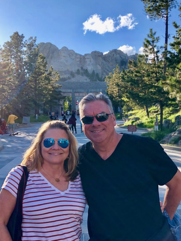 Empty Nesters visit Mount Rushmore