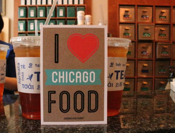 a walking food tour in Chicago