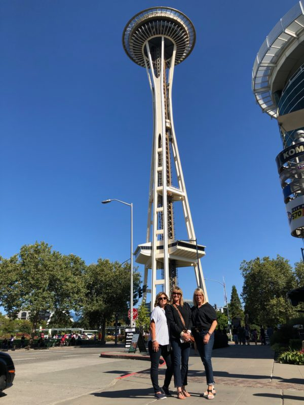 be a tourist at the Space Needle