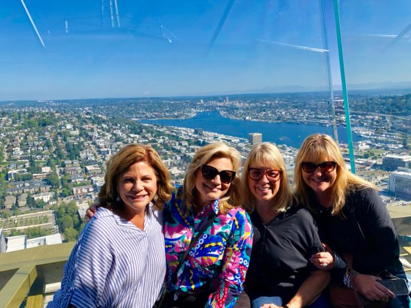 girls trip to Seattle