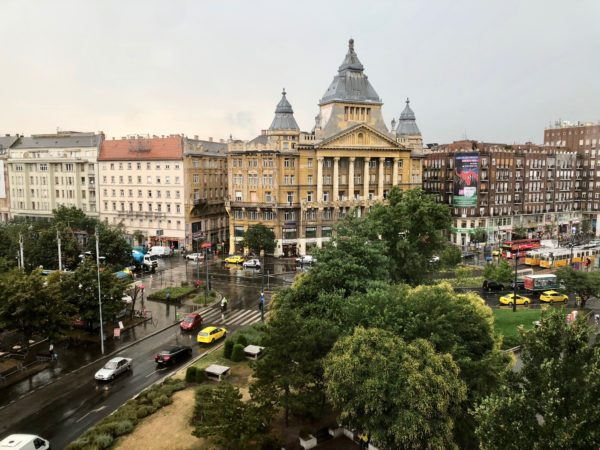 stay at the Ritz Carlton Budapest