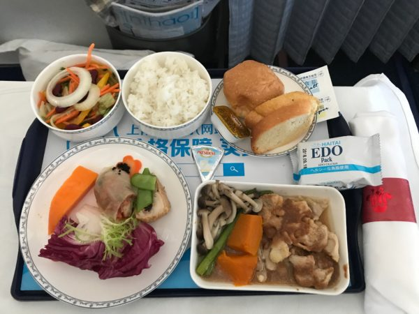 Ten reasons to visit Thailand and a tray of lunch on China Southern Airlines.