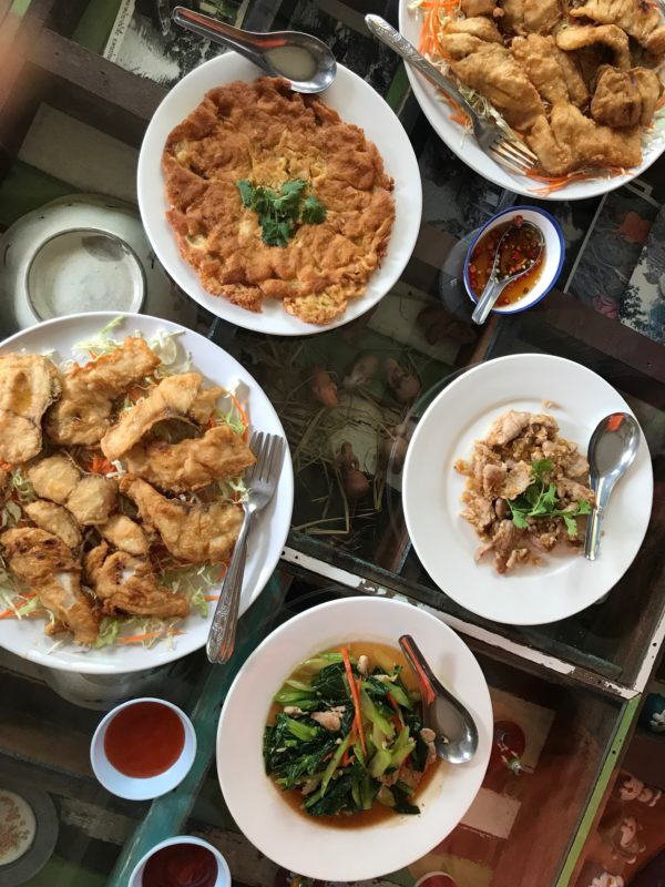 A Thai feast is one of the ten reasons to visit Thailand.