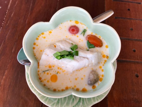 Delicious coconut soup is one of the ten reasons to visit Thailand.