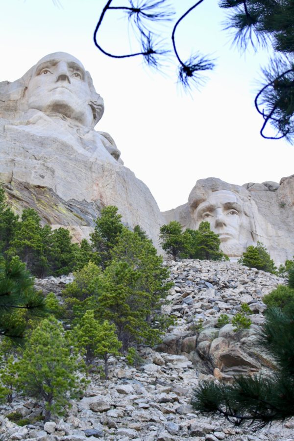 a visit to Mount Rushmore