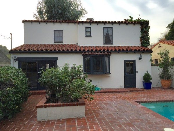 Original Backyard home renovation