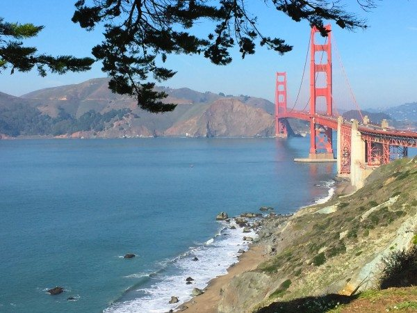 The Golden Gate Bridge - a perfect afternoon in San Francisco