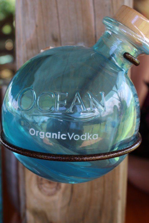 Ocean Organic Vodka Bottle