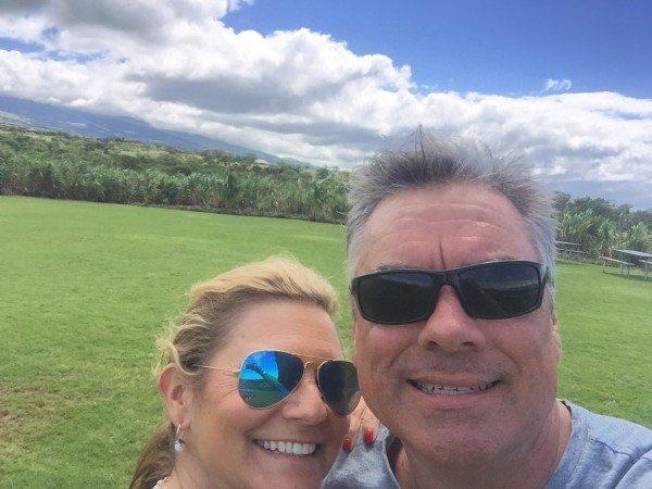 Selfie in the sugar cane fields-1