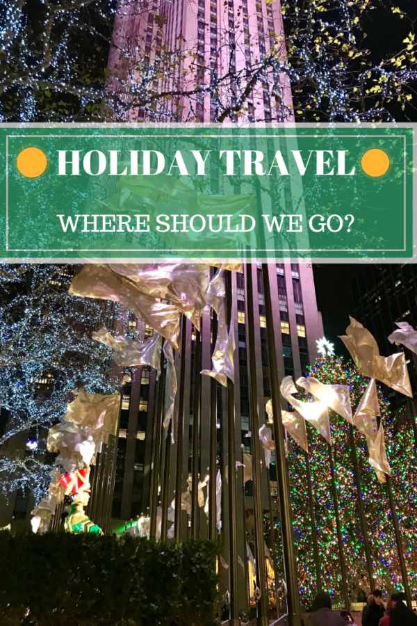 travel at the holidays
