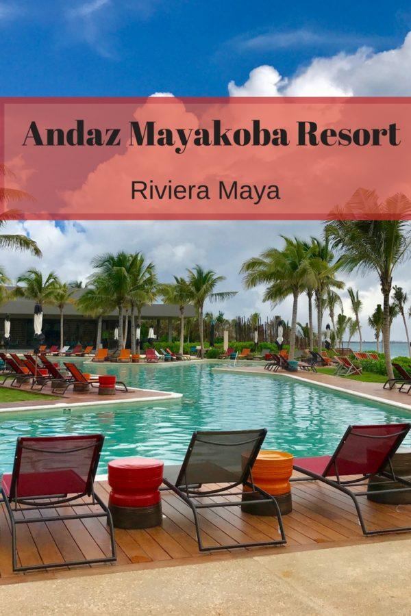 The Andaz Mayakoba Resort, Riviera Maya
