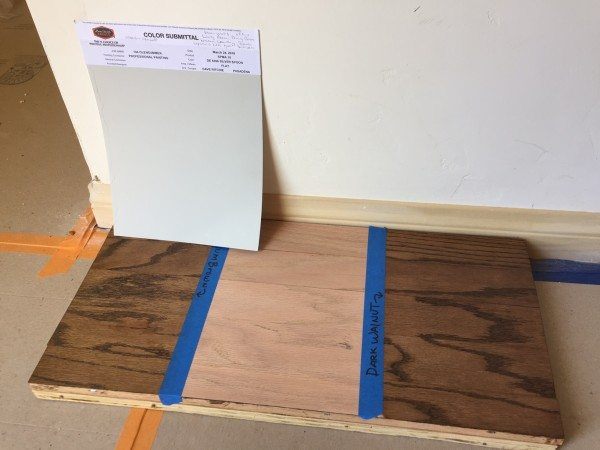 possible floor stain for the fixer upper renovation