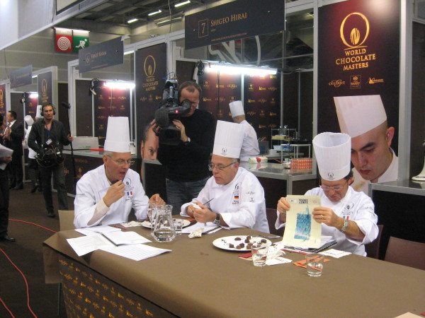 World Chocolate Masters Championships in Paris