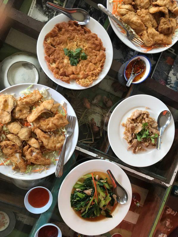 biking in Thailand, culinary travel