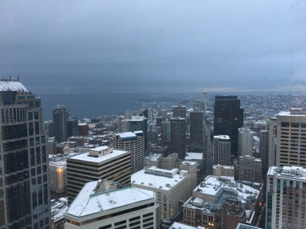 whats in the news - Snow in Seattle