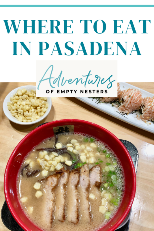 where to eat in Pasadena