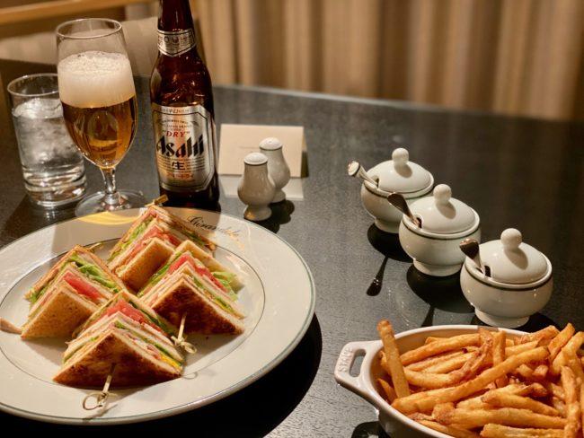 room service on my stay at Park Hyatt Tokyo