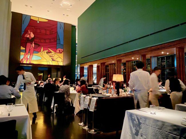 eat at the New York Grill, Park Hyatt Tokyo
