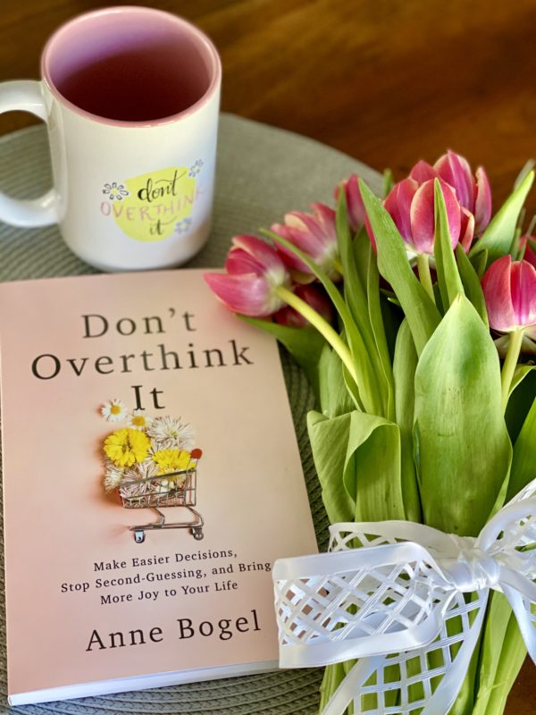 new book called Don't Overthink It