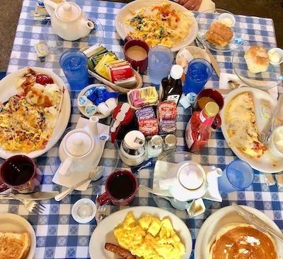 Jackson Hole breakfast