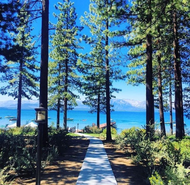 escape to Lake Tahoe